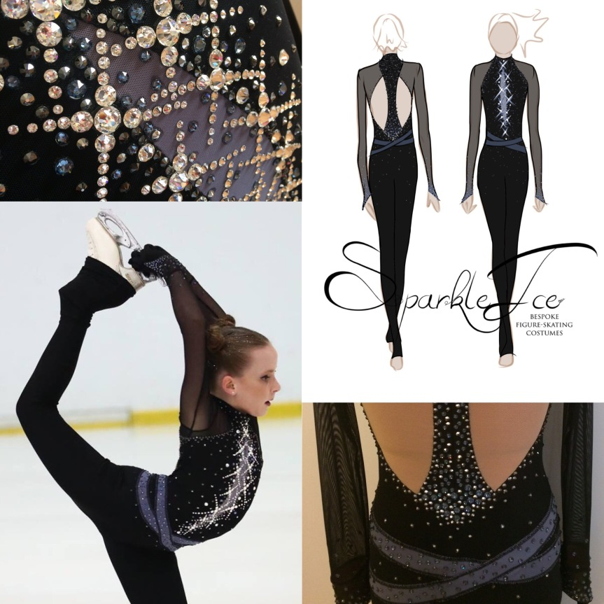 Sparkle Ice Bespoke Figure Skating Costumes